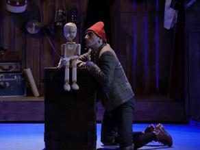César Ritter protagoniza obra teatral 'Pinocho'