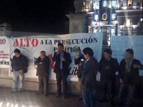 Cajamarca: rechazan pedido de ampliación de prisión de Santos con vigilia