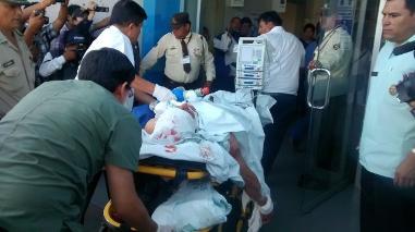 Paro Doe Run: piden unidades de sangre para heridos de bala en La Oroya