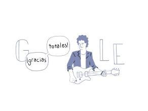 Google dice ¡Gracias totales! en doodle por 56 años de Cerati