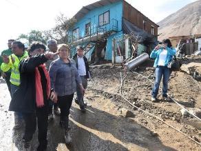 Chile: Bachelet recorrió zona devastada por temporal