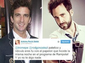 Antonio Pavón le responde a Peluchín por llamarlo