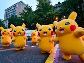 Pokémon: ejército de Pikachus invade Yokohama