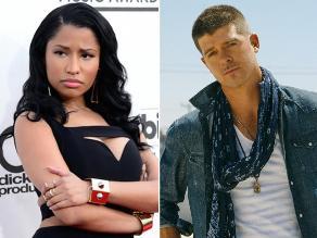 Nicki Minaj se luce en lo nuevo de Robin Thicke