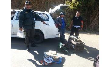 La Libertad: detienen a cuatro personas con explosivos en Julcán