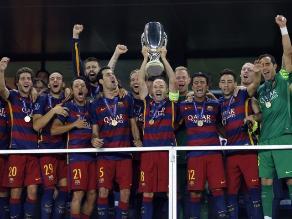 Barcelona superó al Sevilla y es campeón de la Supercopa de Europa