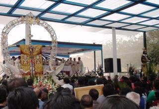 Cruz de Motupe alista encuentro con el Señor de Huamantanga de Jaén