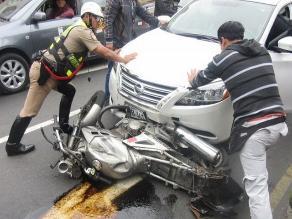 Tumbes: PNP resultó gravemente herido en persecución policial