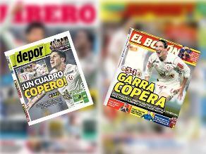 Universitario de Deportes: Estas portadas dejó su victoria en la Sudamericana
