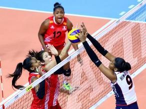 Mundial de Vóley Sub-23: Perú cae en su debut ante República Dominicana