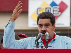Maduro denuncia proceso de