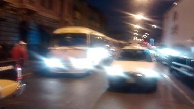 Rotafono: Paradero informal en Av. Colonial