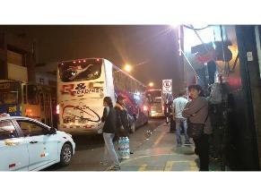 WhatsApp: Regresan buses interprovinciales en el Cercado de Lima