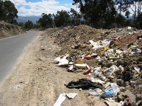 Cusco: pobladores rechazan relleno sanitario de Huancabamba