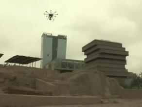 Con drones se protege nuestro patrimonio arqueológico
