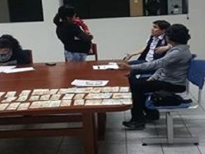 Chiclayo: Policía detiene a mujer que cobraba cupo de extorsión en Motupe
