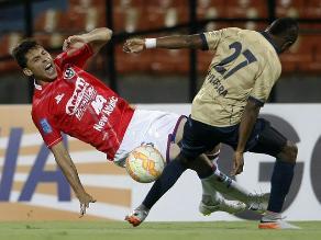 Unión Comercio cayó ante Águilas Doradas en su debut en la Copa Sudamericana