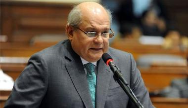Cateriano recibió informe final de Comisión Reorganizadora de la DINI
