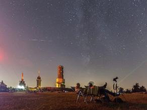 Las perseidas: la lluvia de meteoros que iluminó los cielos