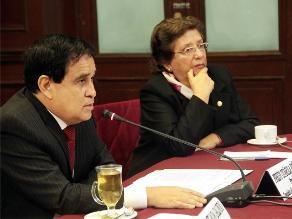 Otárola presidirá Comisión de Constitución y Reglamento del Congreso