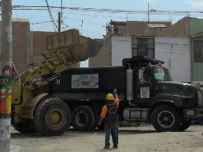 Chiclayo: esperan recoger 300 toneladas de basura en los techos