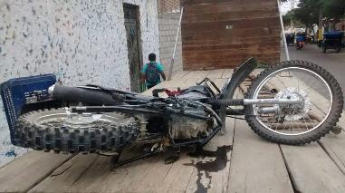 Casma: joven muere y su padre queda herido en accidente de tránsito