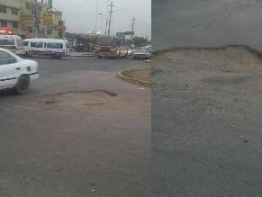 WhatsApp: pistas en mal estado afectan conductores en Carabayllo