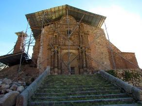 Puno: el 30 % de templos coloniales de la región necesitan restauración