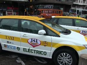 Montevideo incorpora taxis eléctricos para impulsar energías renovables