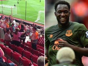 Romelu Lukaku le da al Everton su primer triunfo y se disculpa con aficionada