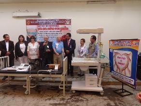 Donan equipos de última generación a hospital Referencial de Ferreñafe