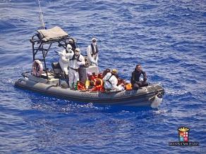 Al menos 40 personas mueren en un naufragio frente a Libia
