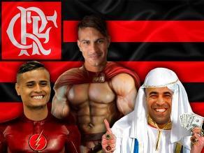 Flamengo: Meme de Paolo Guerrero, Emerson y Everton es boom en Twitter