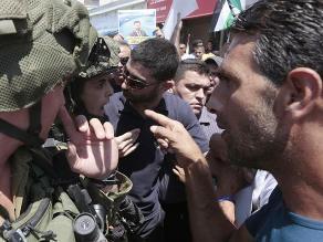 Cisjordania: Palestino muere tras intentar atacar a policía de Israel