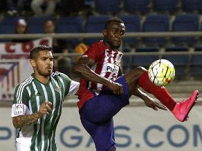 Juan Vargas: Betis cayó 3-0 ante Atlético Madrid en el Trofeo Ramón de Carranza