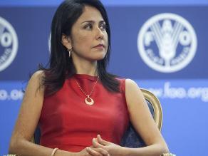Nadine Heredia tacha de 'mentiras' supuestas agendas de trabajo