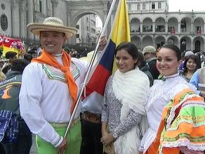 Realizan misa previo al Festidanza 2015 por aniversario de Arequipa
