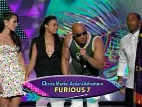 Teen Choice Awards: Vin Diesel rinde homenaje a Paul Walker