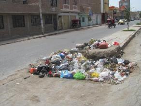 Chiclayo: Municipio de JLO alquilará maquinaria para recoger basura