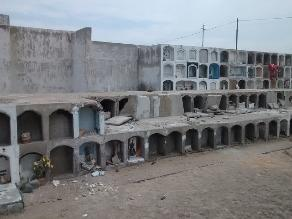 Lluvias pondrían en peligro al cementerio El Carmen de Chiclayo