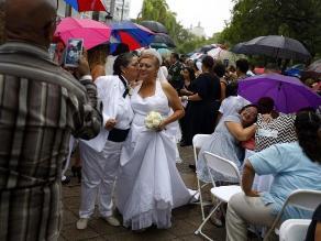 Puerto Rico festejó su primera boda gay múltiple