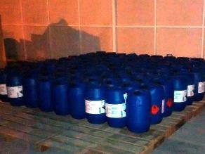 Sunat decomisa nueva sustancia para elaborar clorhidrato de cocaína