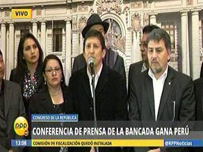 Gana Perú denuncia campaña de demolición contra Nadine Heredia