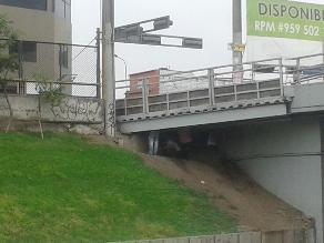WhatsApp: captan a sujetos debajo de un puente en la Vía Expresa