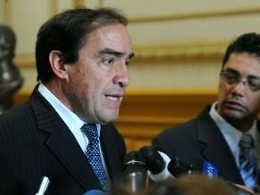 Lescano revela que contratos de Antalsis se perdieron en la OSCE