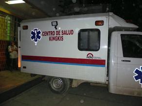 Apurímac: sujeto quedó herido tras recibir un impacto de bala