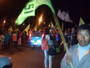 Islay: opositores al proyecto minero Tía María realizaron mitin en Cocachacra