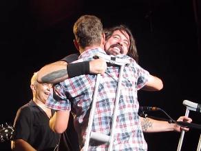 Foo Fighters: Esto sucede cuando Dave Grohl te ve llorando