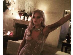 Lady Gaga: Así fue su fiesta de American Horror Story