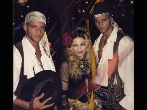 Madonna celebró así sus 57 años